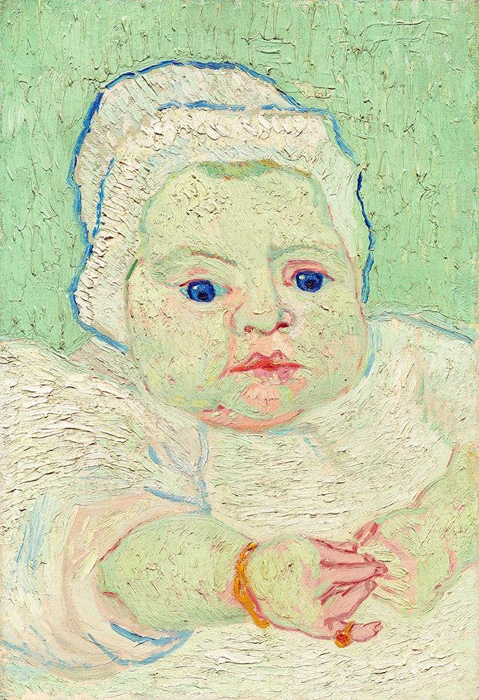 konfigurieren des Kunstdrucks in Wunschgröße Roulins Baby (1888) von Van Gogh, Vincent