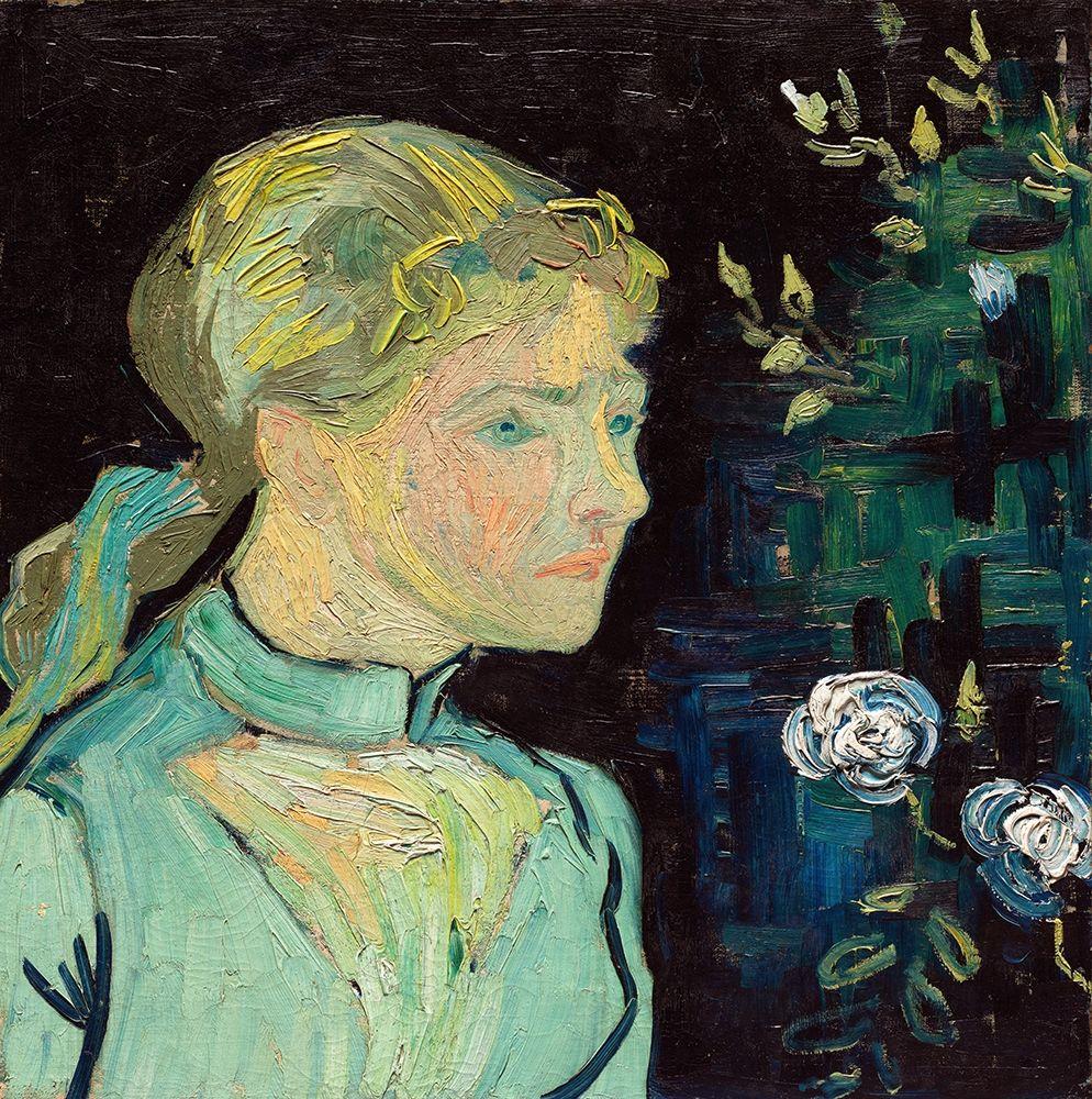konfigurieren des Kunstdrucks in Wunschgröße Adeline Ravoux (1890) von Van Gogh, Vincent