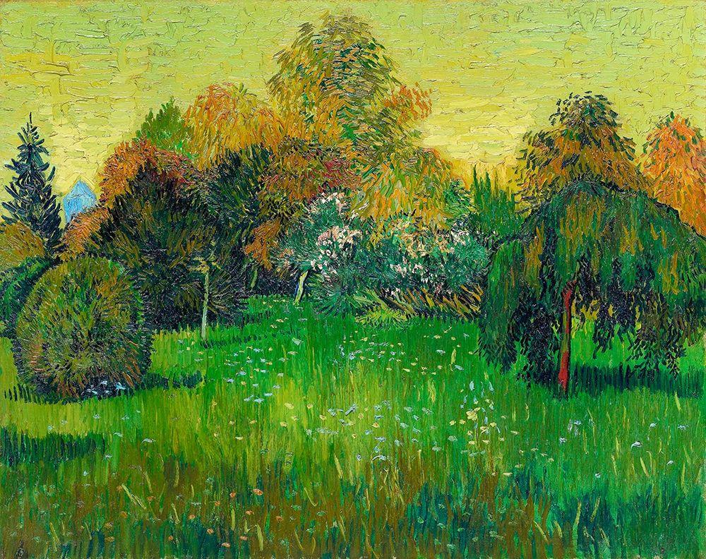 konfigurieren des Kunstdrucks in Wunschgröße The Poets Garden (1888)┬á von Van Gogh, Vincent
