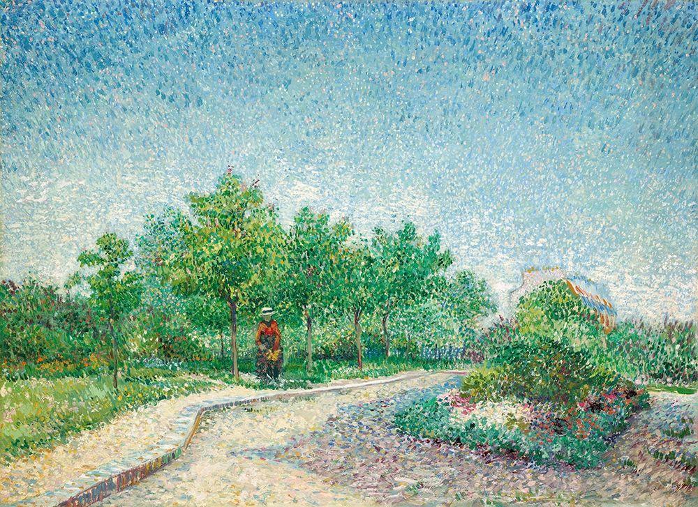 konfigurieren des Kunstdrucks in Wunschgröße Square Saint-Pierre, Paris (1887) von Van Gogh, Vincent