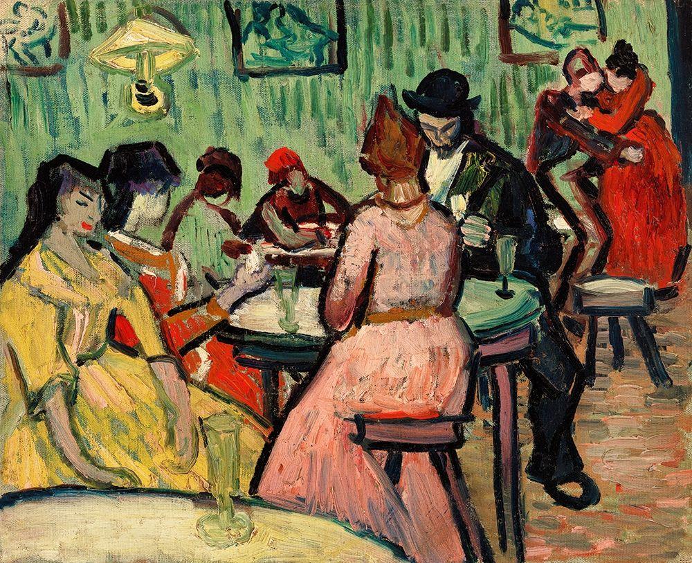 konfigurieren des Kunstdrucks in Wunschgröße The Brothel (Le Lupanar) (1888) von Van Gogh, Vincent