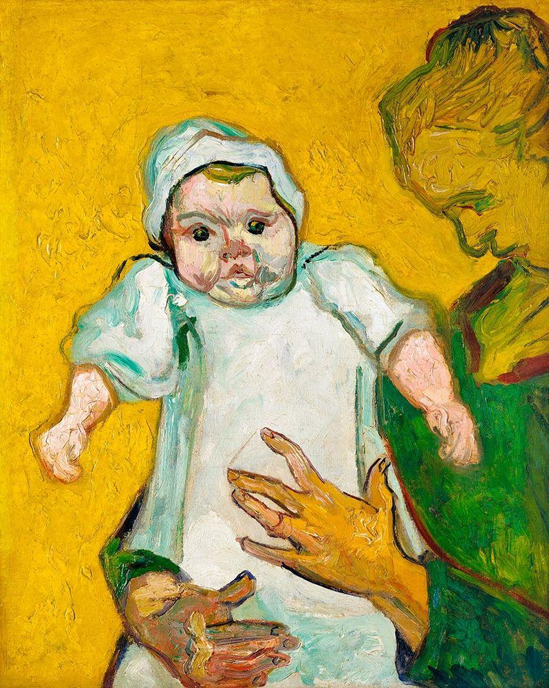 konfigurieren des Kunstdrucks in Wunschgröße Madame Roulin and Her Baby (1888) von Van Gogh, Vincent