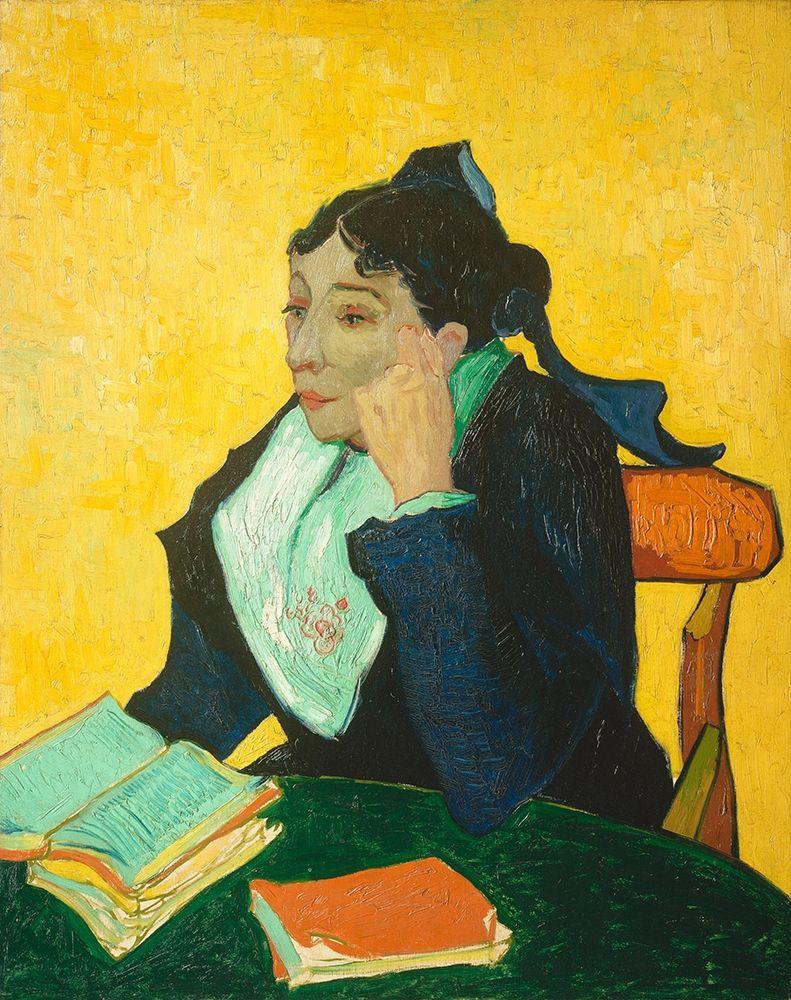 konfigurieren des Kunstdrucks in Wunschgröße Madame Joseph-Michel Ginoux (1888-1889) von Van Gogh, Vincent