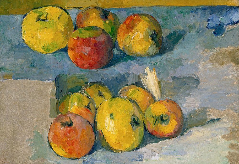 konfigurieren des Kunstdrucks in Wunschgröße Apples von Cezanne, Paul