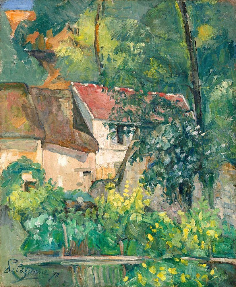konfigurieren des Kunstdrucks in Wunschgröße House of P├¿re Lacroix von Cezanne, Paul