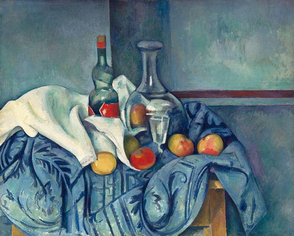 konfigurieren des Kunstdrucks in Wunschgröße The Peppermint Bottle von Cezanne, Paul