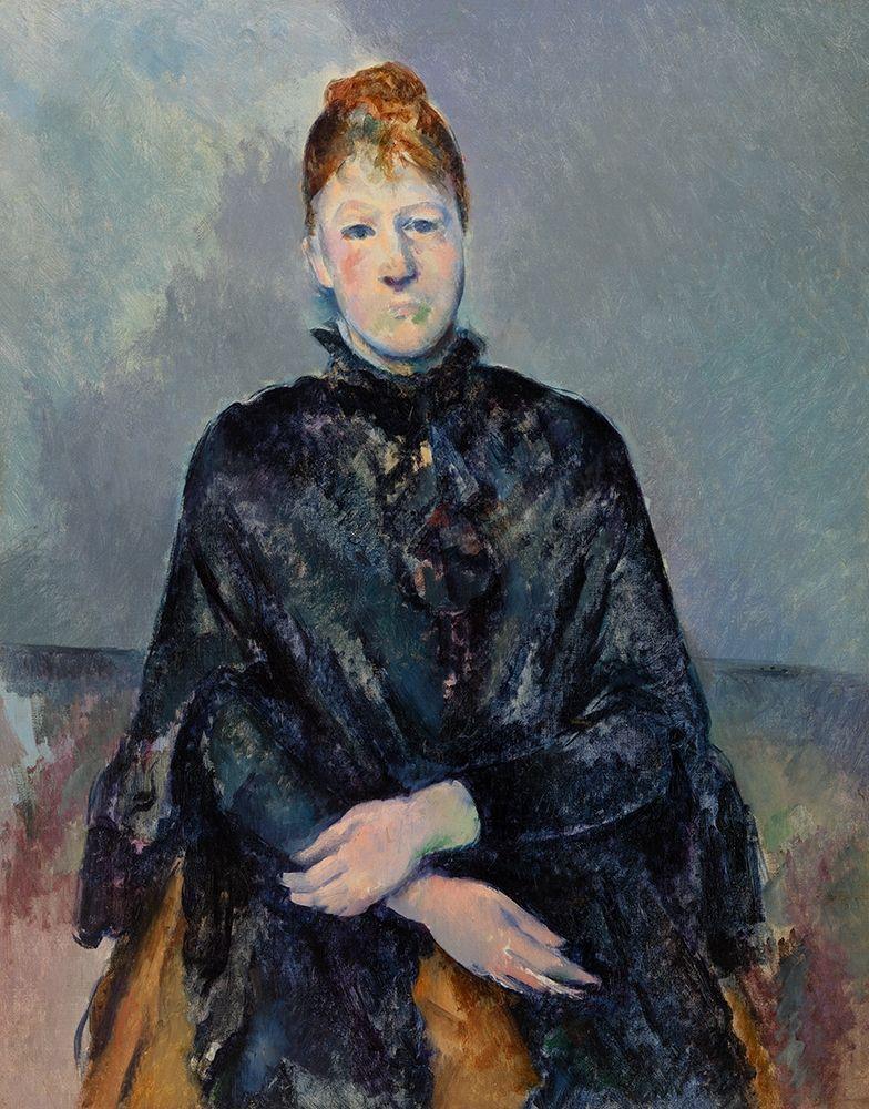 konfigurieren des Kunstdrucks in Wunschgröße Madame C├®zanne von Cezanne, Paul
