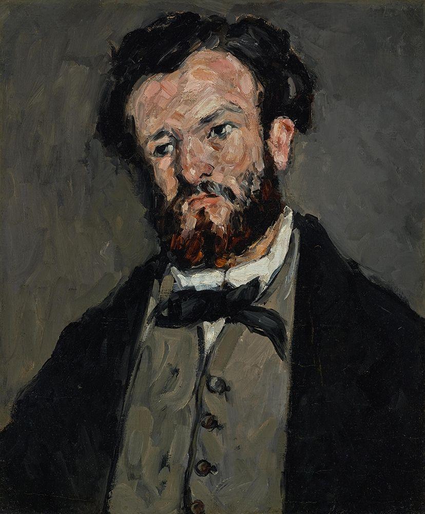 konfigurieren des Kunstdrucks in Wunschgröße Portrait of Anthony Valabr├¿gue von Cezanne, Paul