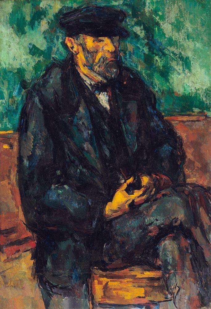 konfigurieren des Kunstdrucks in Wunschgröße The Gardener Vallier von Cezanne, Paul