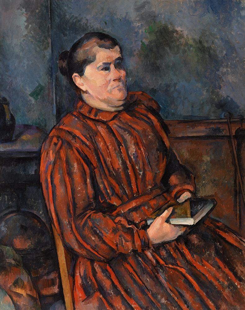 konfigurieren des Kunstdrucks in Wunschgröße Portrait of a Woman von Cezanne, Paul