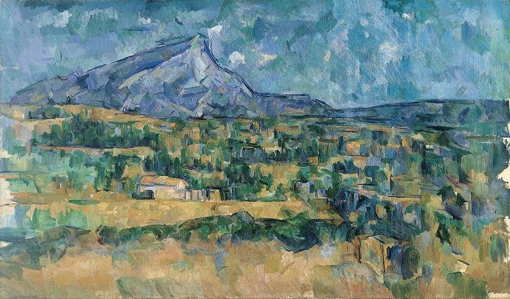 konfigurieren des Kunstdrucks in Wunschgröße Mont Sainte-Victoire von Cezanne, Paul