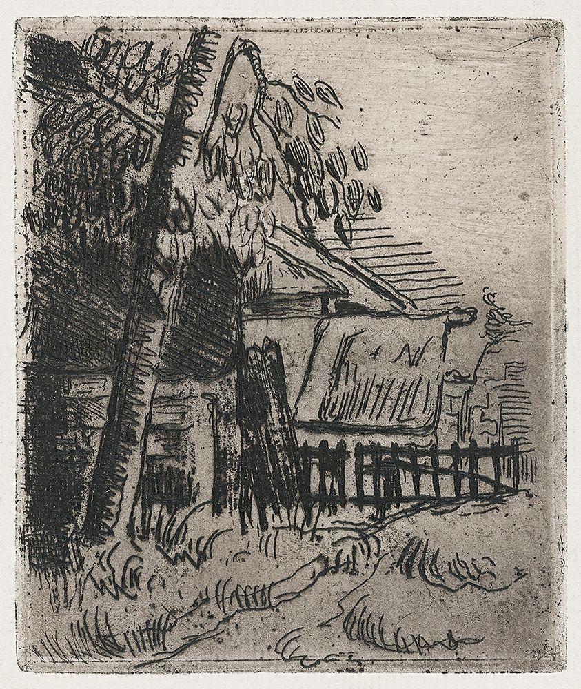konfigurieren des Kunstdrucks in Wunschgröße Landscape at Auvers von Cezanne, Paul