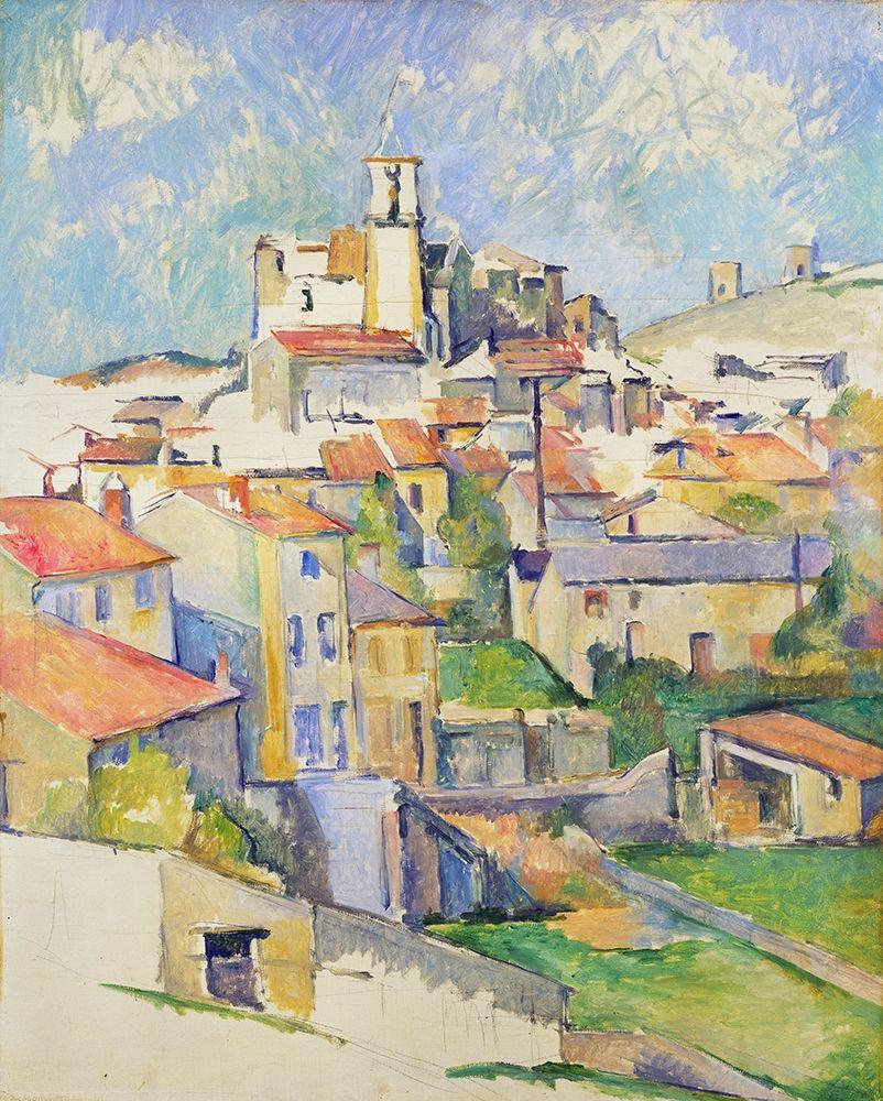 konfigurieren des Kunstdrucks in Wunschgröße Gardanne von Cezanne, Paul