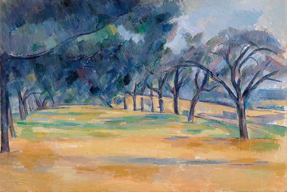 konfigurieren des Kunstdrucks in Wunschgröße The All├®e at Marines von Cezanne, Paul