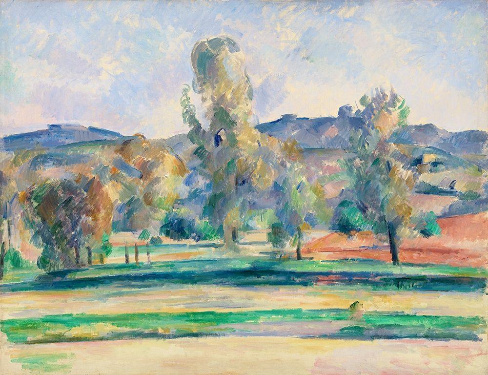 konfigurieren des Kunstdrucks in Wunschgröße Autumn Landscape von Cezanne, Paul