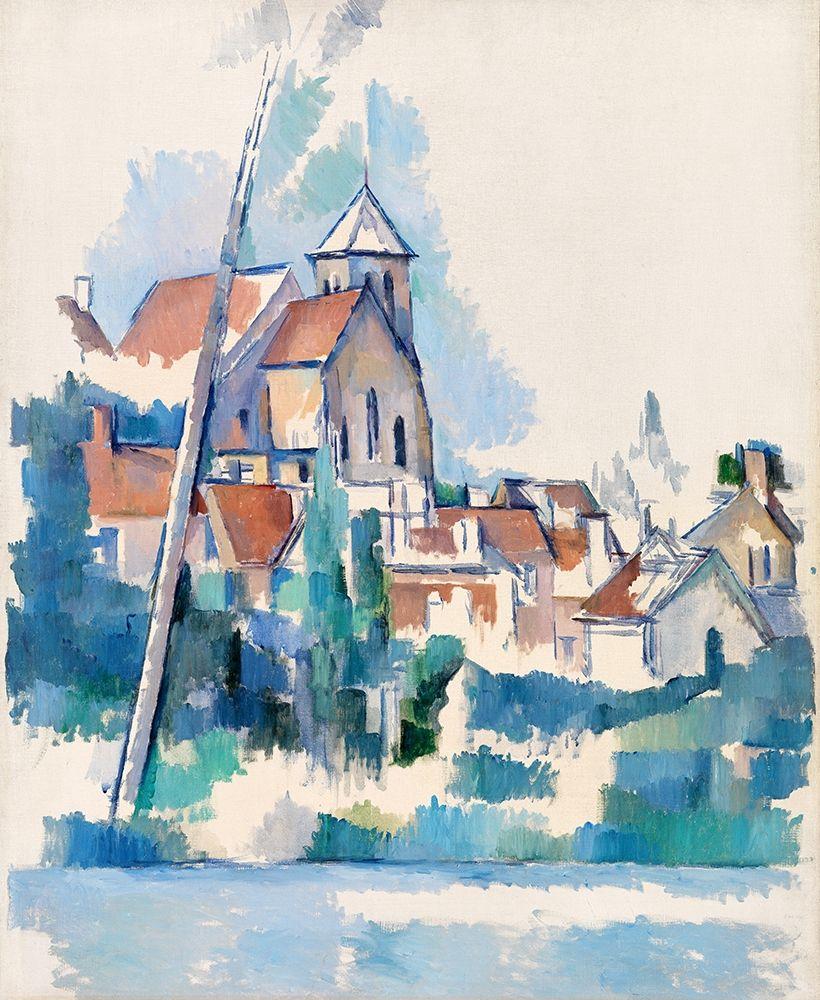 konfigurieren des Kunstdrucks in Wunschgröße Church at Montigny-sur-Loing┬á von Cezanne, Paul