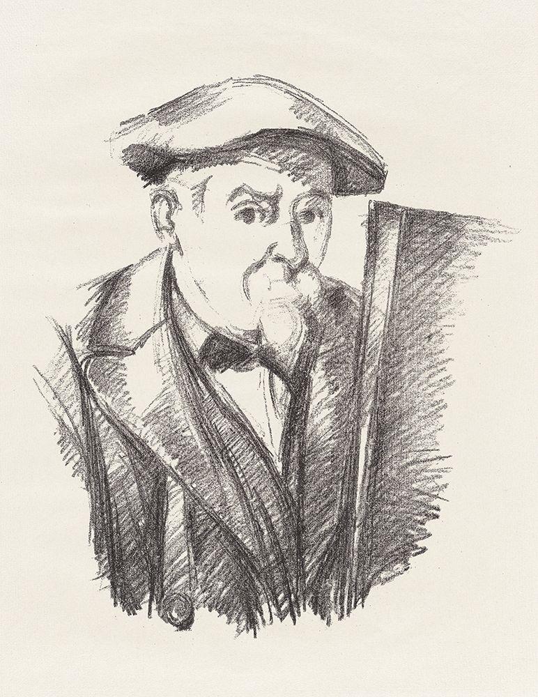 konfigurieren des Kunstdrucks in Wunschgröße Self-Portrait┬á von Cezanne, Paul