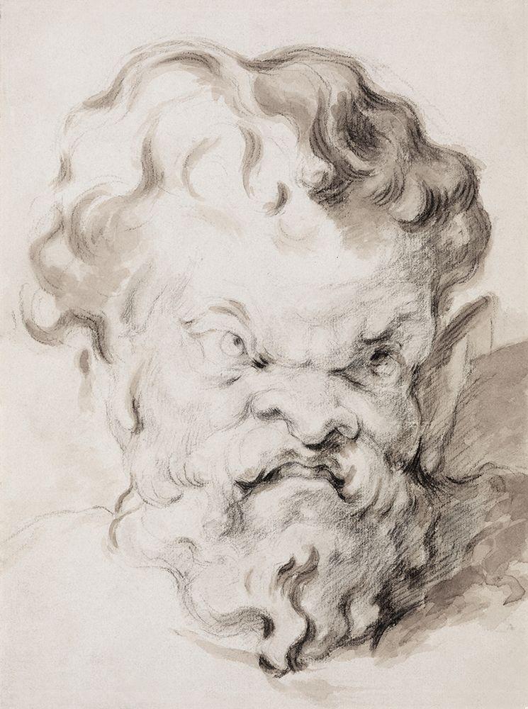 konfigurieren des Kunstdrucks in Wunschgröße Head of Silenus von Cezanne, Paul