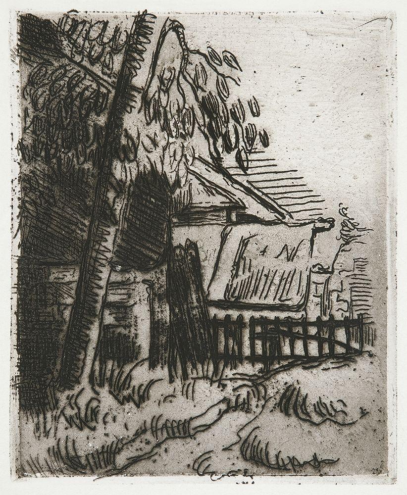 konfigurieren des Kunstdrucks in Wunschgröße Landscape in Auvers┬á von Cezanne, Paul