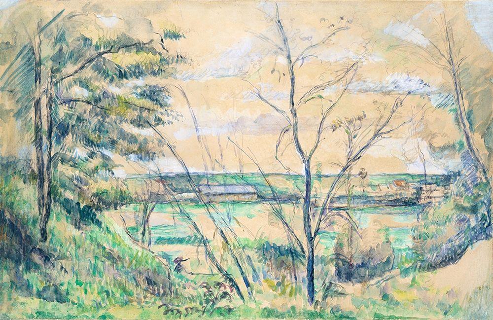 konfigurieren des Kunstdrucks in Wunschgröße In the Oise Valley von Cezanne, Paul