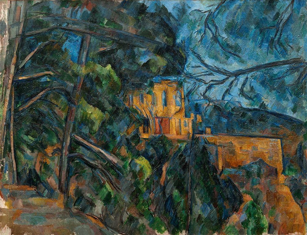 konfigurieren des Kunstdrucks in Wunschgröße Ch├óteau Noir von Cezanne, Paul