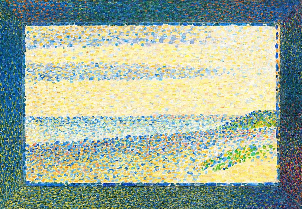 konfigurieren des Kunstdrucks in Wunschgröße Seascape von Seurat, Georges