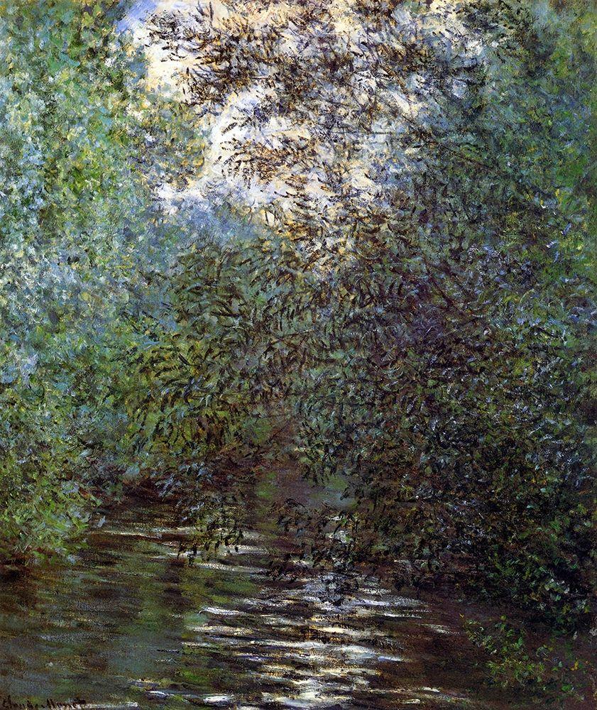 konfigurieren des Kunstdrucks in Wunschgröße Le Fleuve Aux Saules von Monet, Claude