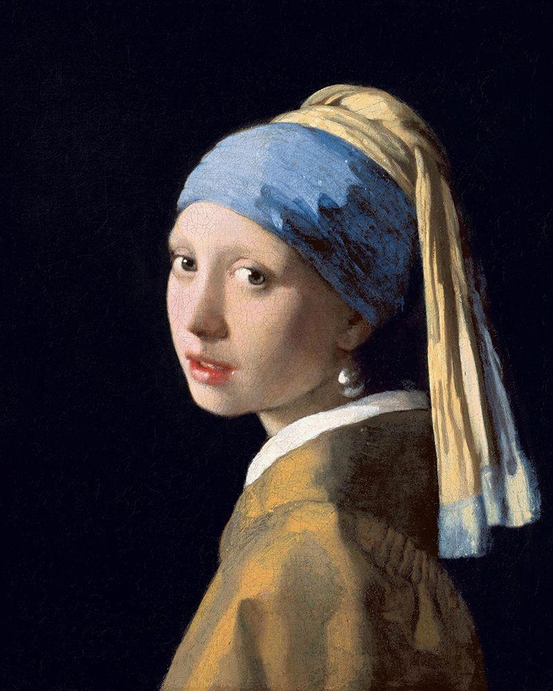 konfigurieren des Kunstdrucks in Wunschgröße Girl with a Pearl Earring von Vermeer, Johannes