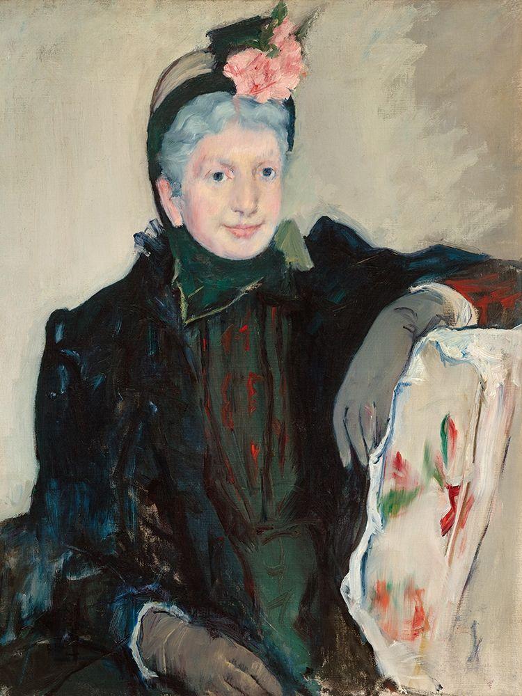 konfigurieren des Kunstdrucks in Wunschgröße Portrait of an Elderly Lady von Cassatt, Mary