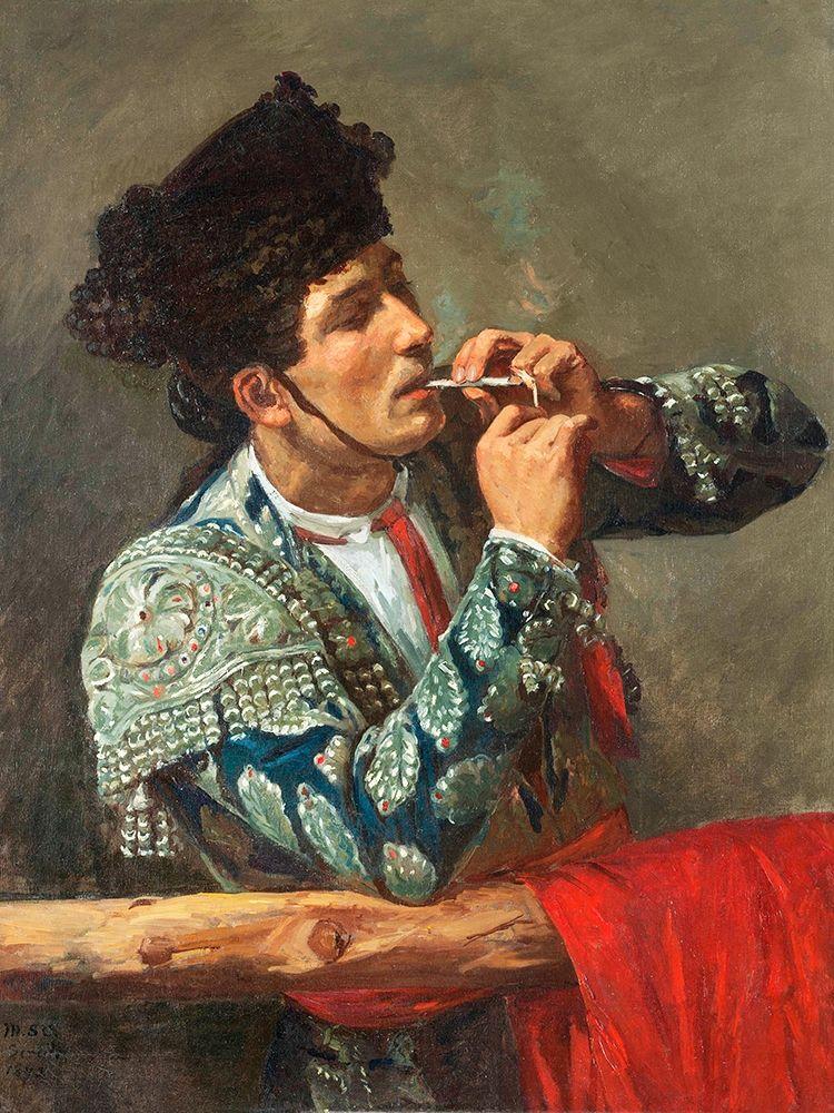 konfigurieren des Kunstdrucks in Wunschgröße After the Bullfight von Cassatt, Mary