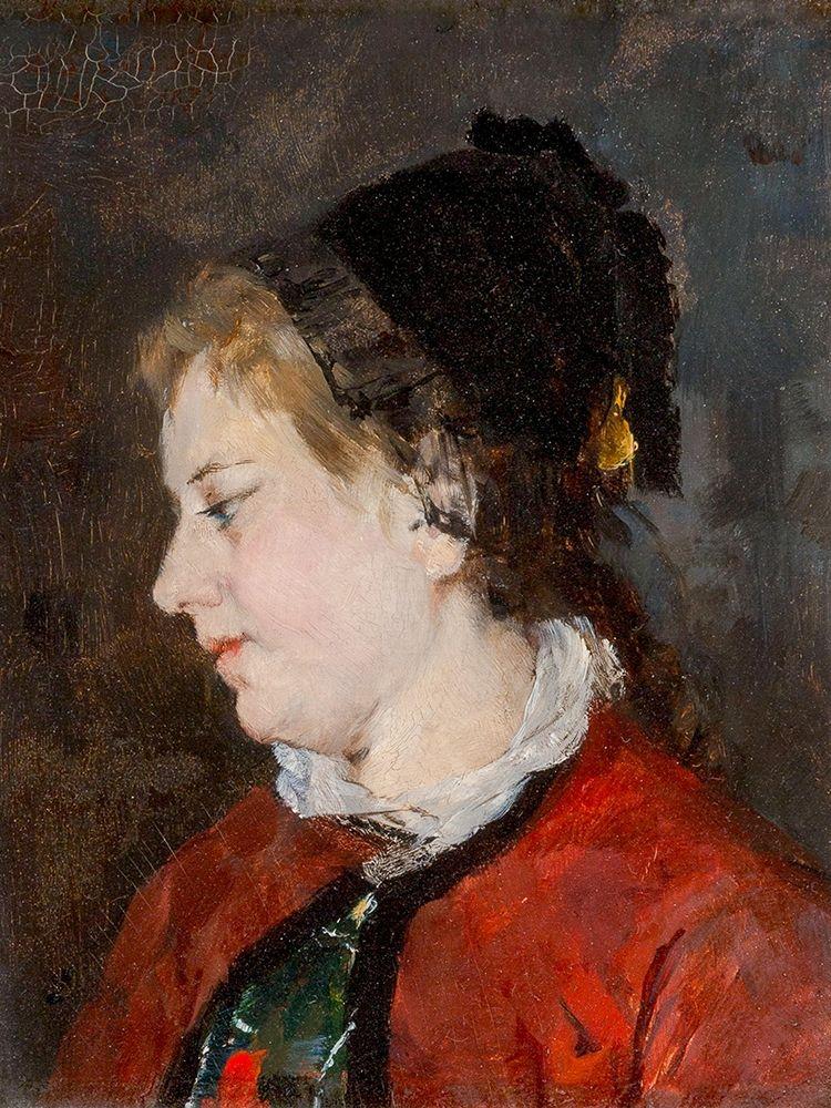 konfigurieren des Kunstdrucks in Wunschgröße Portrait of Madame Sisley von Cassatt, Mary