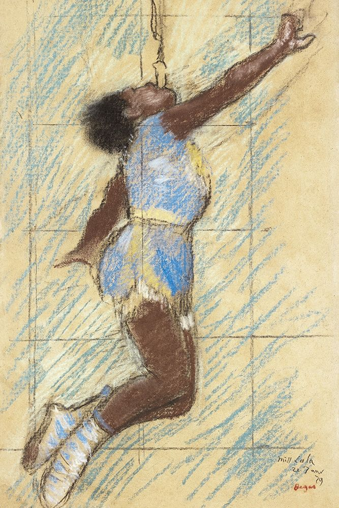 konfigurieren des Kunstdrucks in Wunschgröße Miss Lala at the Fernando Circus von Degas, Edgar