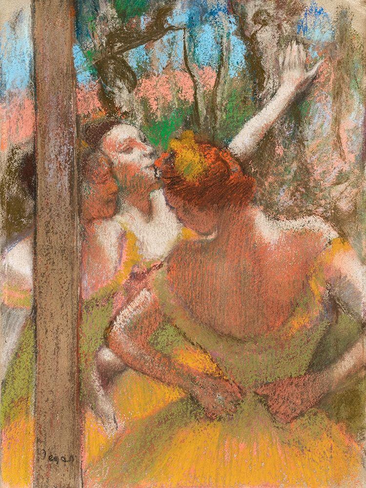 konfigurieren des Kunstdrucks in Wunschgröße Dancers von Degas, Edgar