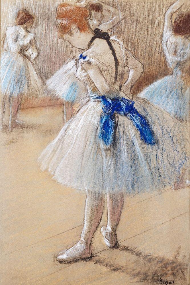 konfigurieren des Kunstdrucks in Wunschgröße Dancer von Degas, Edgar