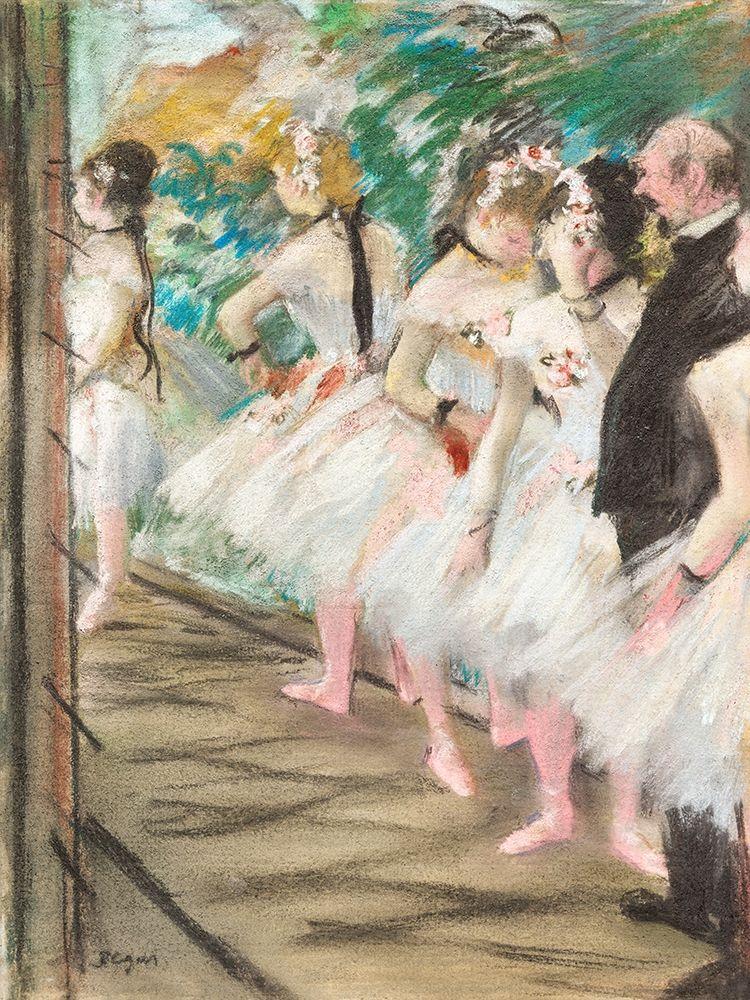 konfigurieren des Kunstdrucks in Wunschgröße The Ballet von Degas, Edgar