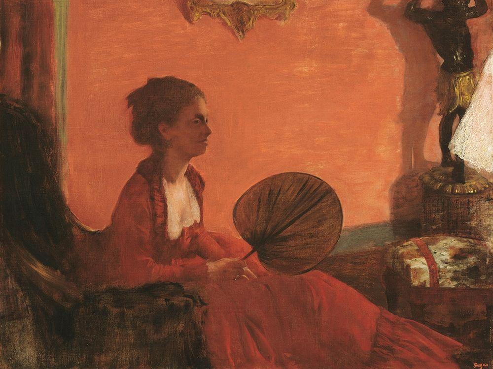 konfigurieren des Kunstdrucks in Wunschgröße Madam Camus von Degas, Edgar