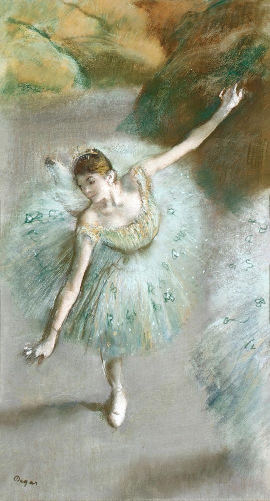 konfigurieren des Kunstdrucks in Wunschgröße Dancer in Green┬á von Degas, Edgar
