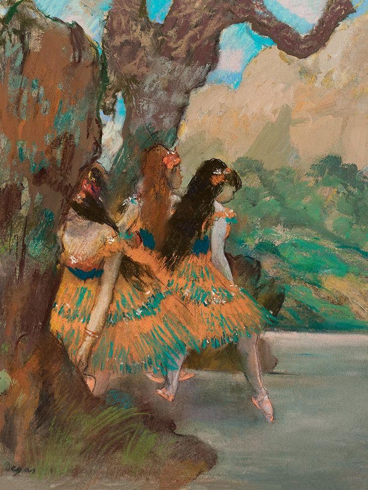 konfigurieren des Kunstdrucks in Wunschgröße Ballet Dancers von Degas, Edgar