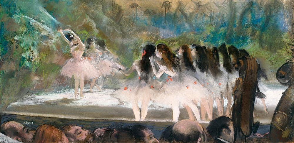 konfigurieren des Kunstdrucks in Wunschgröße Ballet at the Paris Opera von Degas, Edgar
