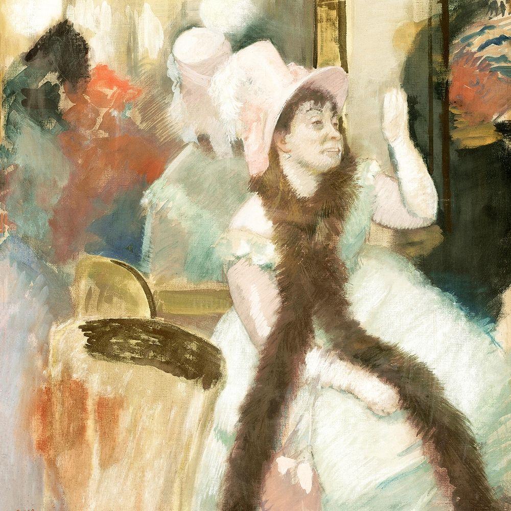 konfigurieren des Kunstdrucks in Wunschgröße Portrait after a Costume Ball von Degas, Edgar