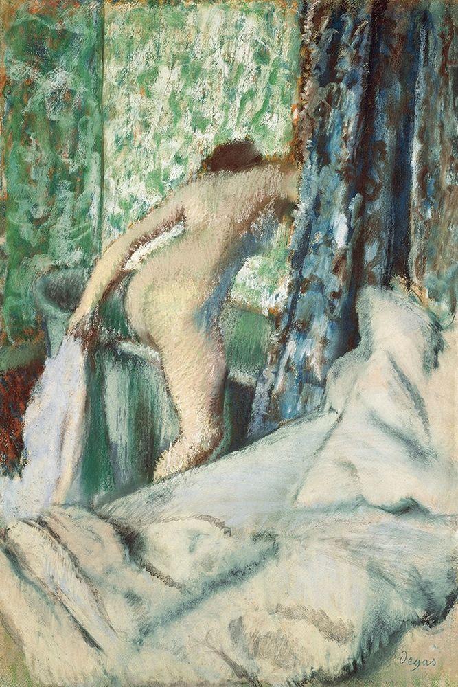konfigurieren des Kunstdrucks in Wunschgröße The Morning Bath von Degas, Edgar