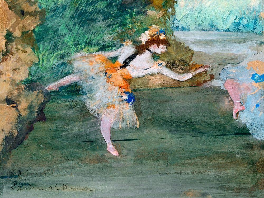 konfigurieren des Kunstdrucks in Wunschgröße Dancer Onstage┬á von Degas, Edgar