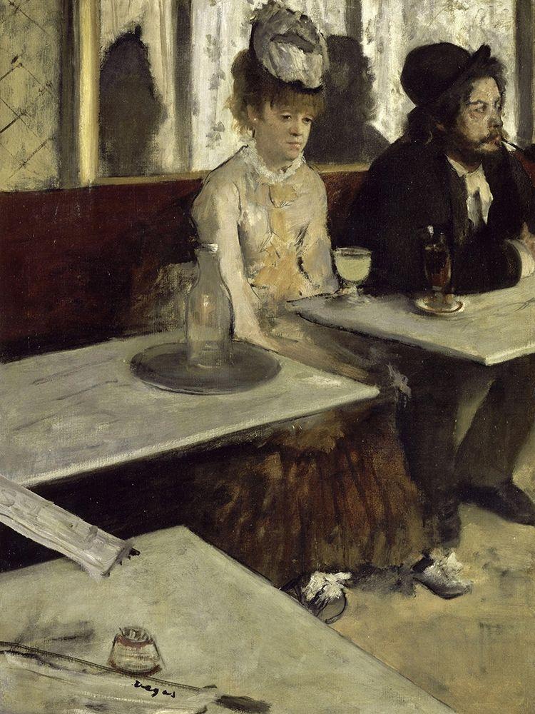 konfigurieren des Kunstdrucks in Wunschgröße In a Caf├® von Degas, Edgar