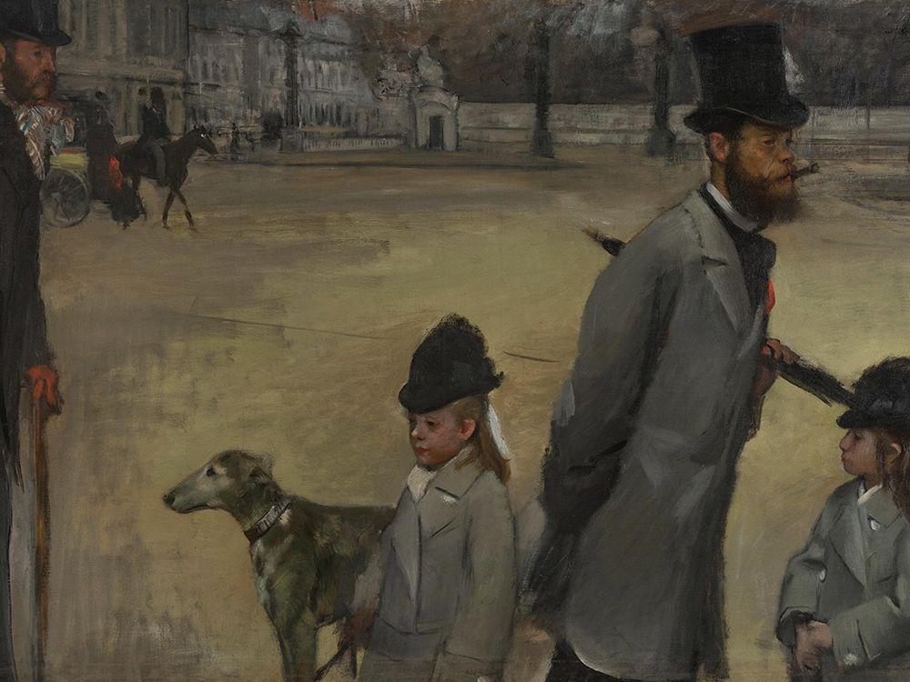 konfigurieren des Kunstdrucks in Wunschgröße Place de la Concorde von Degas, Edgar