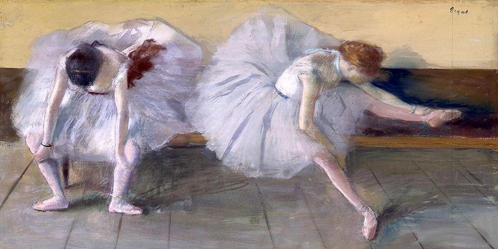 konfigurieren des Kunstdrucks in Wunschgröße Deux danseuses von Degas, Edgar