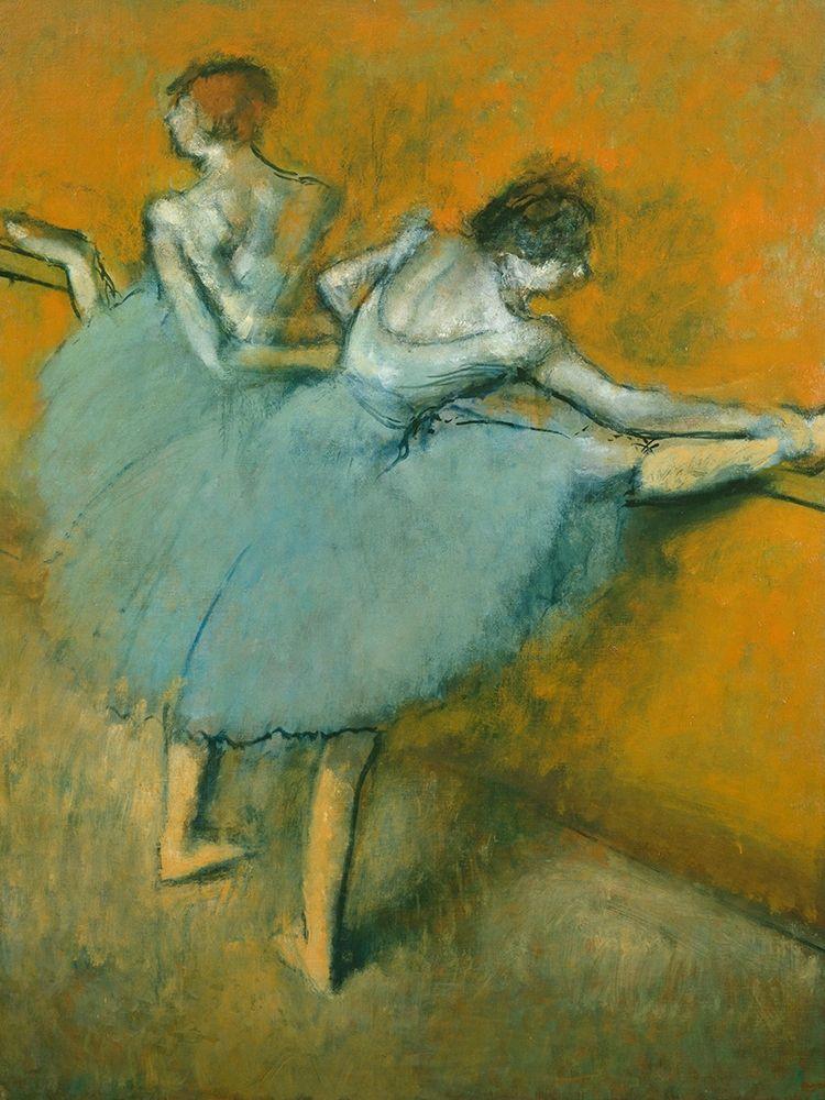 konfigurieren des Kunstdrucks in Wunschgröße Dancers at the Bar von Degas, Edgar
