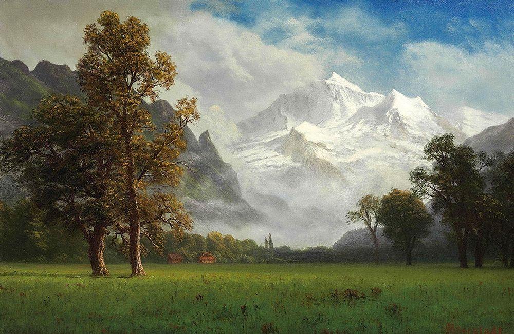 konfigurieren des Kunstdrucks in Wunschgröße Jungfrau von Bierstadt, Albert