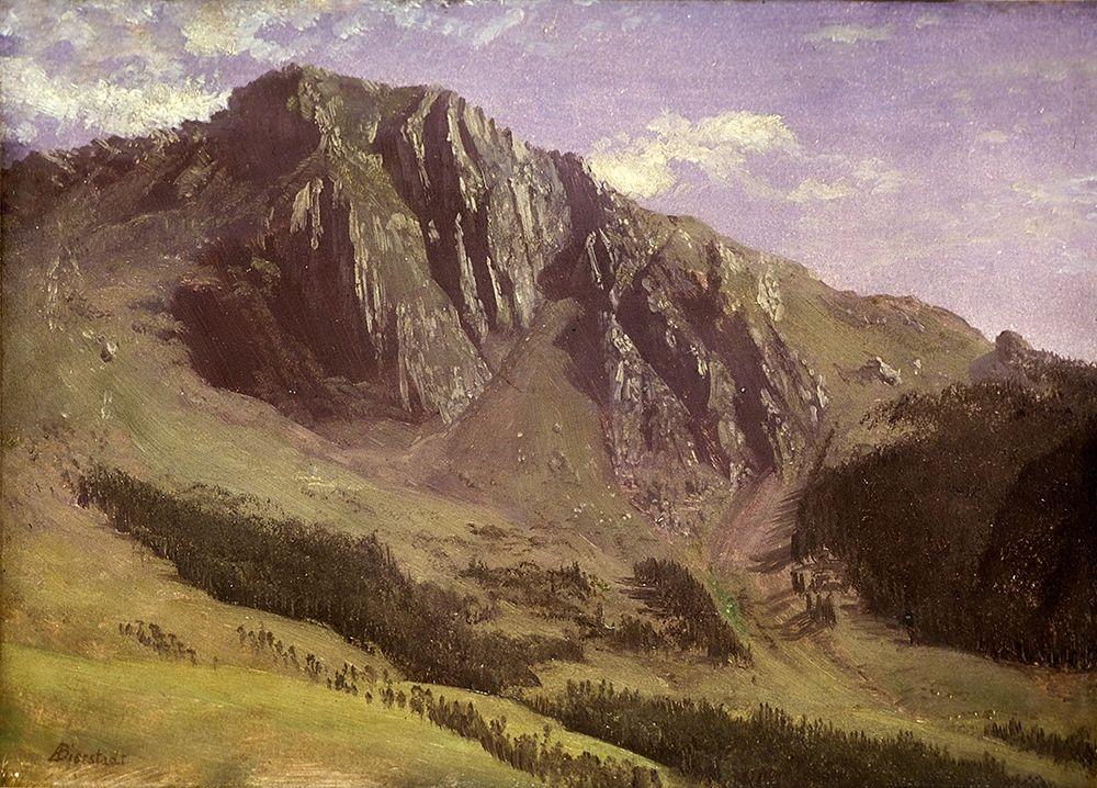 konfigurieren des Kunstdrucks in Wunschgröße Mountains von Bierstadt, Albert