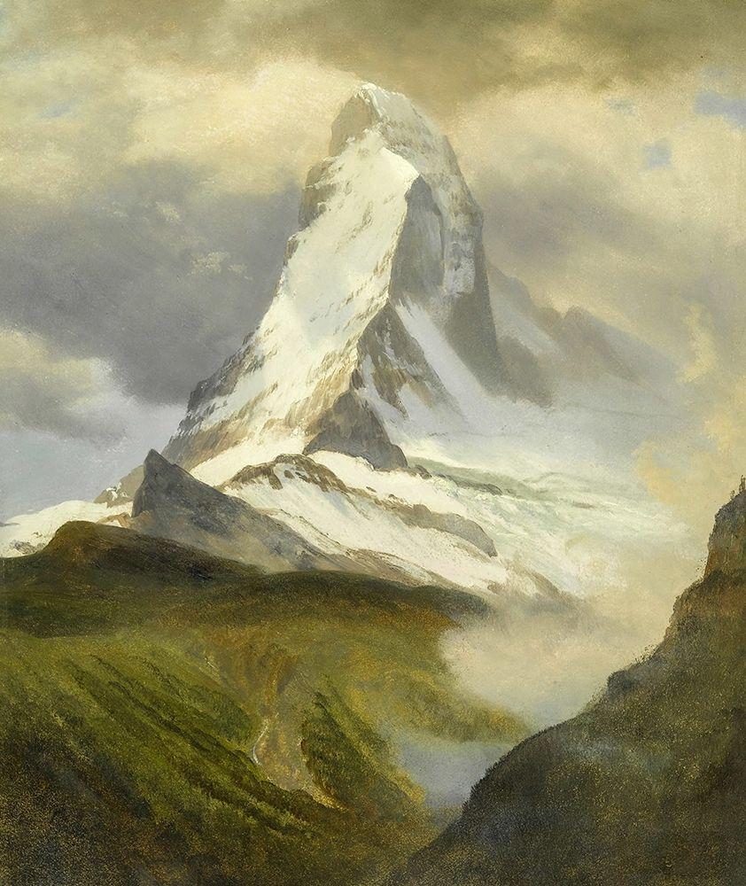 konfigurieren des Kunstdrucks in Wunschgröße The Matterhorn von Bierstadt, Albert