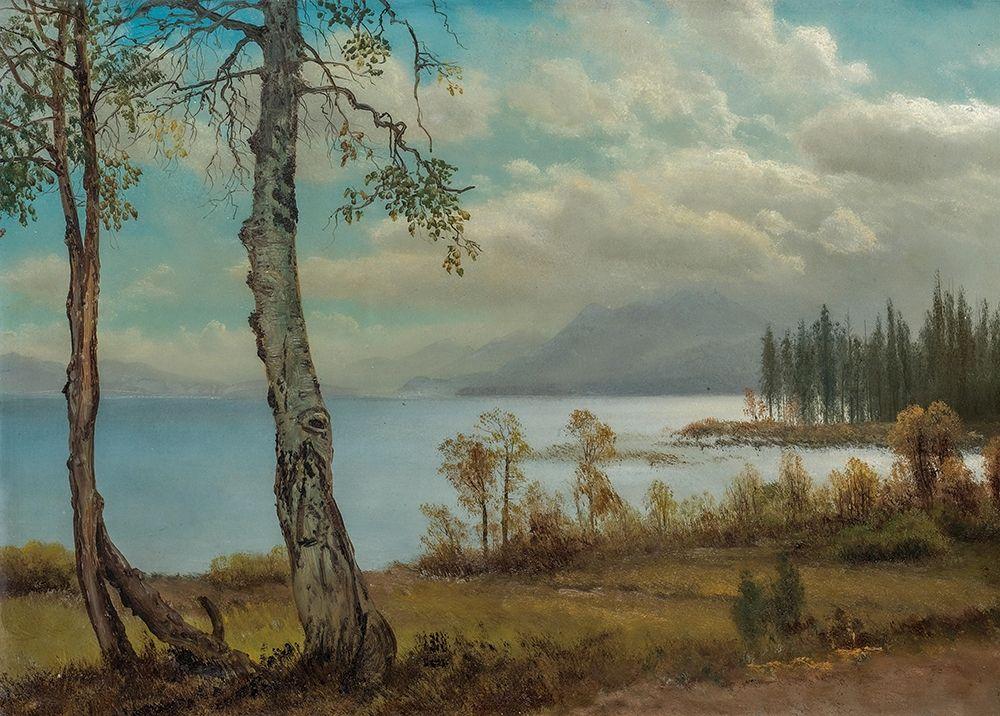 konfigurieren des Kunstdrucks in Wunschgröße Lake Tahoe von Bierstadt, Albert